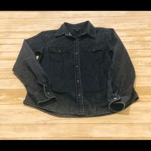 Banana Republic Dark Denim Shirt